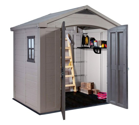 play video - Garden Sheds 7x6