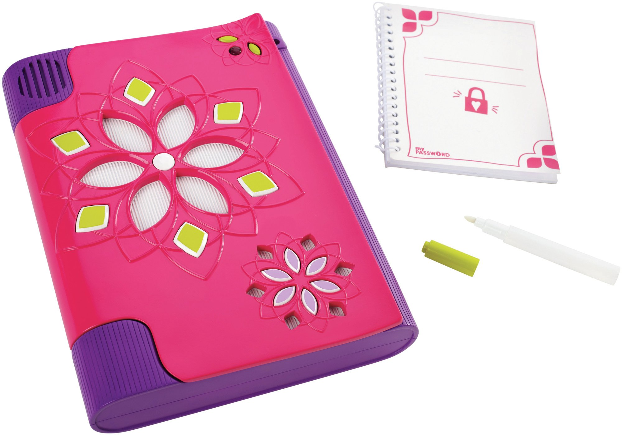 Girl Tech Password Journal - Pink