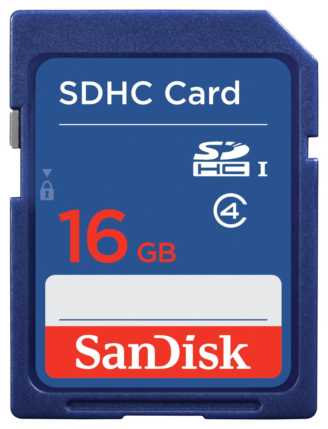 SanDisk - Blue SD - Memory Card - 16GB