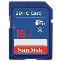 SanDisk - Blue SD - Memory Card - 16GB