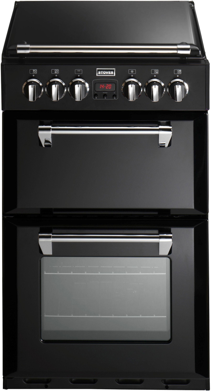 Stoves Richmond 550DFW 55cm Dual Fuel Cooker - Black