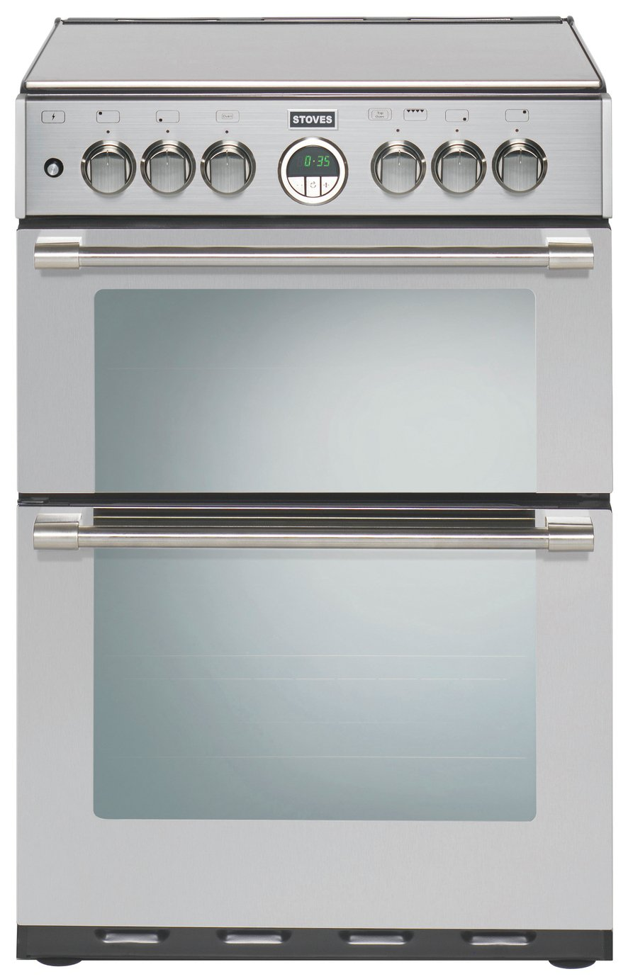 Buy Stoves Sterling 600g 60cm Double Oven Gas Cooker S Steel Freestanding Cookers Argos