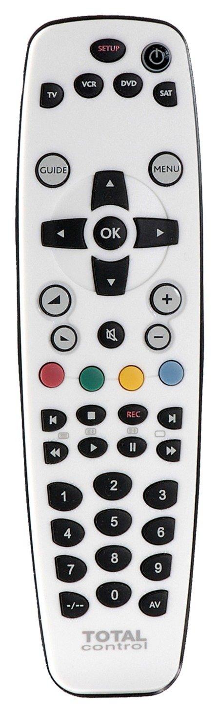 Total Control 4-Way Universal Remote Control.