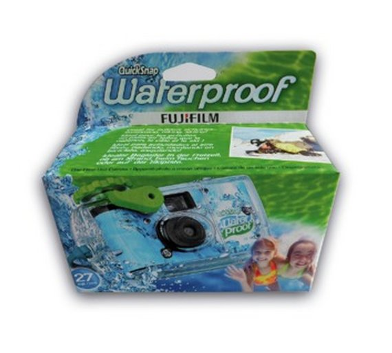Fujifilm Waterproof Single Use Marine Camera