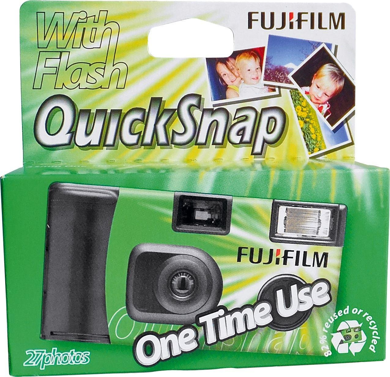 Image of Fujifilm - Single Use - Camera - 27 Exposures with Flash