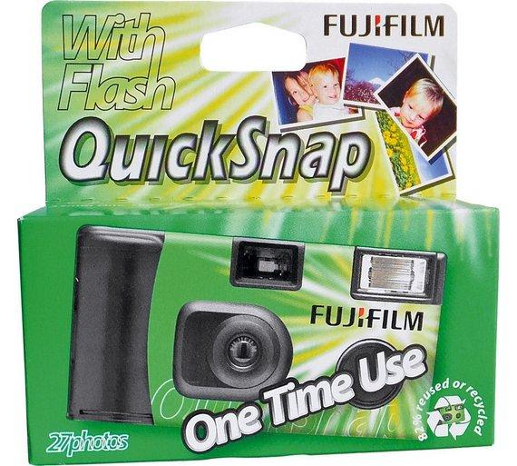 Buy Fujifilm Single Use Camera - 27 Shots with Flash at Argos.co ...