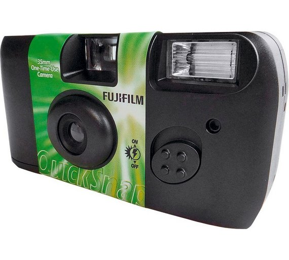 Buy Fujifilm Single Use Camera - 27 Shots with Flash at Argos.co ...