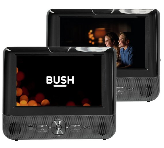 Buy Bush 7in Dual In Car Dvd Player At Argos Co Uk Your