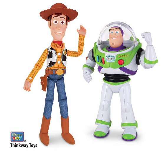 Buy Disney Toy Story Woody And Buzz Talking Figures Action Figures