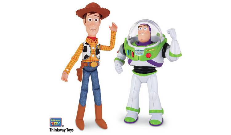 Disney Toy Story Woody and Buzz Talking Figures