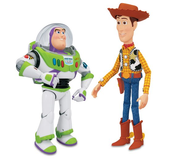 Toy Story Figures : Buy toy story woody and buzz talking figures at argos