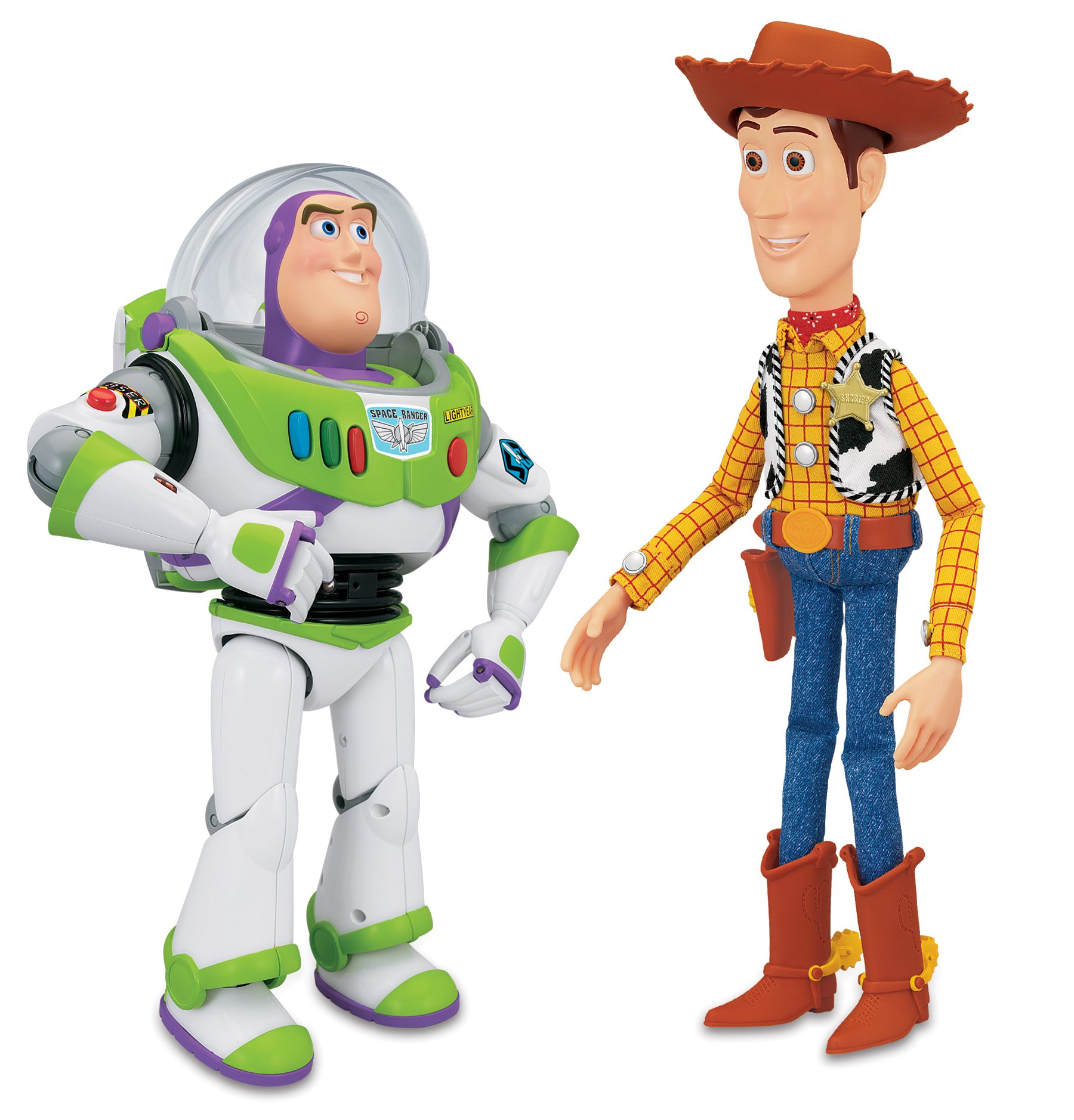 Buy Toy Story Woody And Buzz Talking Figures At Argos Co