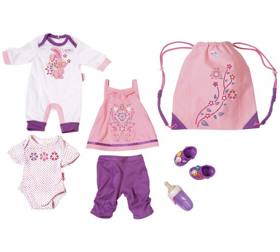 Buy Baby Born Great Value Outfit Set 4 Pack At Argos Co
