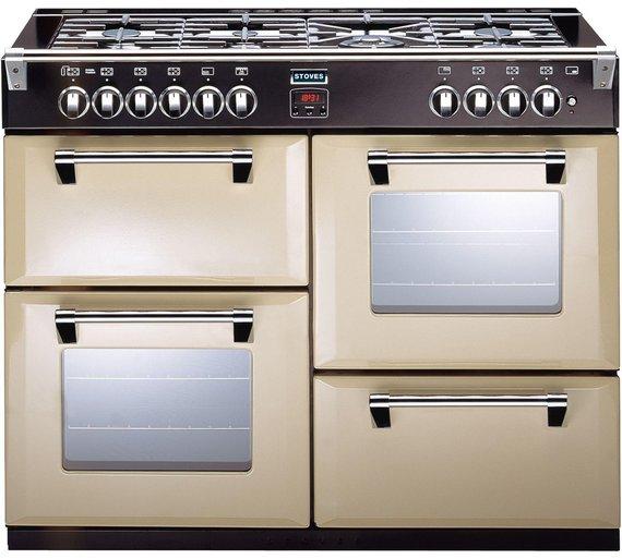 buy stoves richmond 1100gt gas range cooker champagne at. Black Bedroom Furniture Sets. Home Design Ideas