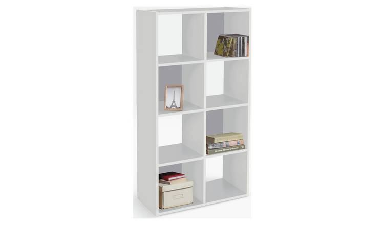 Argos Home Squares 8 Cube Storage Unit - White