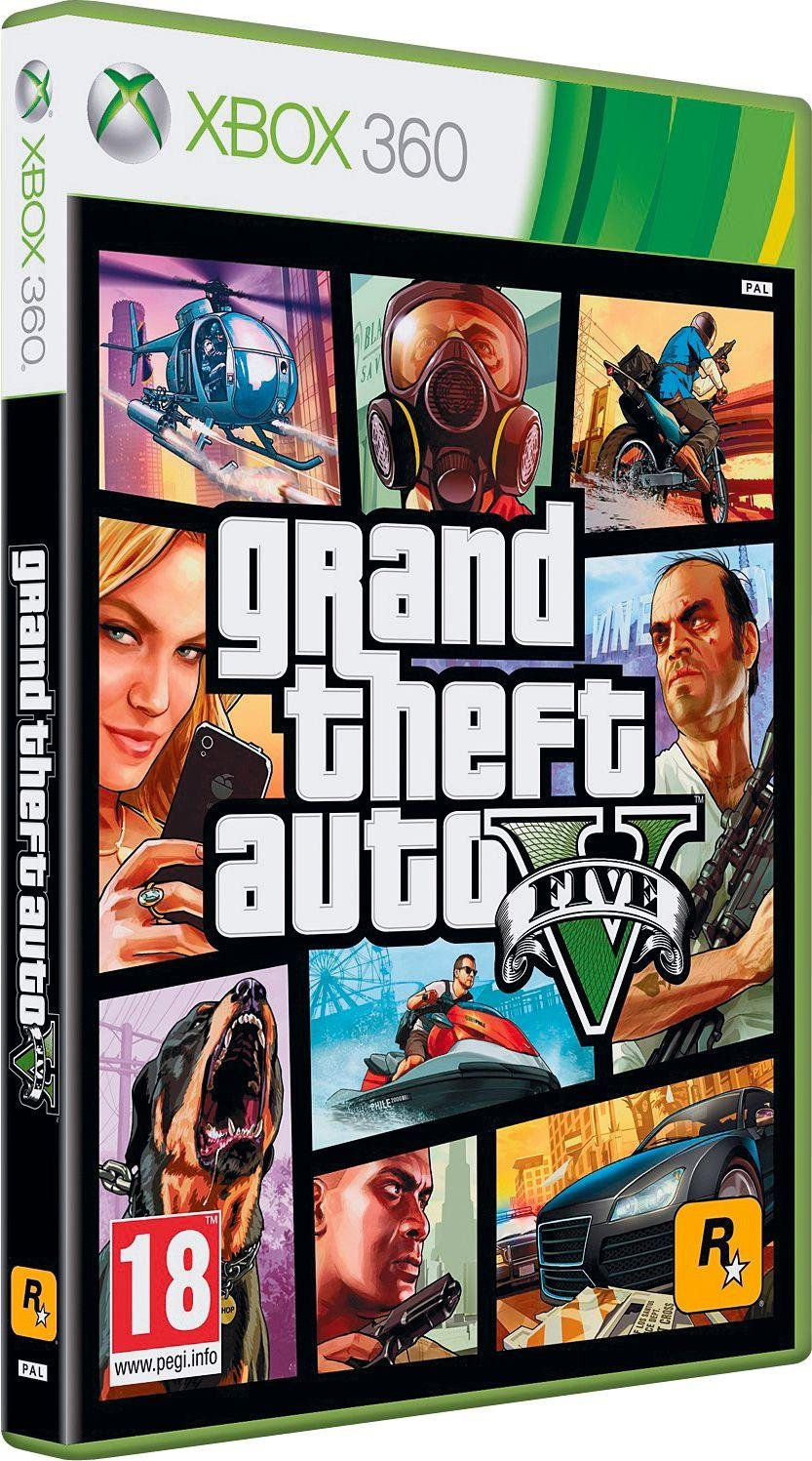 Buy Grand Theft Auto V Xbox 360 Game at Argos.co.uk - Your Online ...