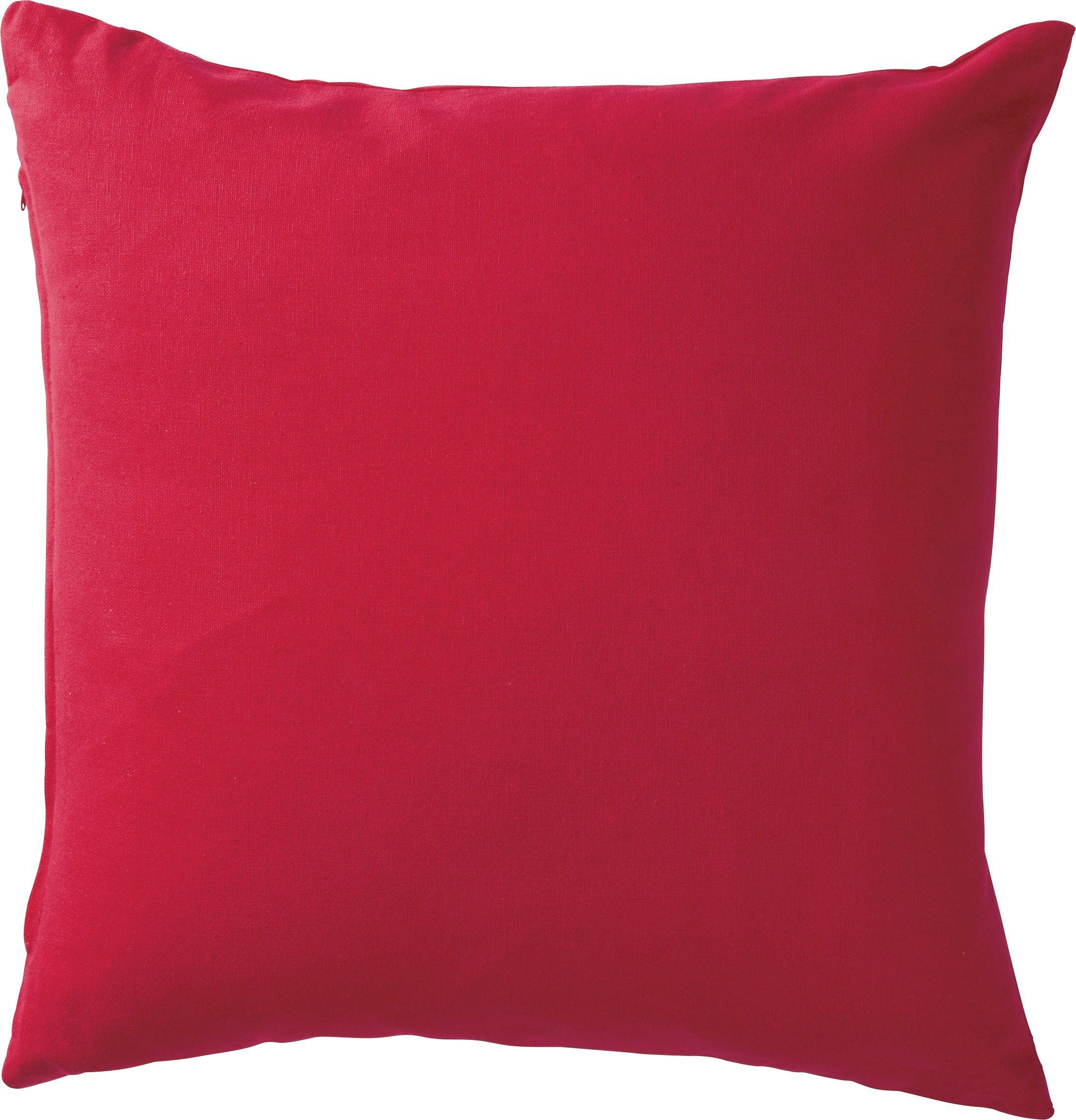 colourmatch cotton cushion poppy red at argos. Black Bedroom Furniture Sets. Home Design Ideas