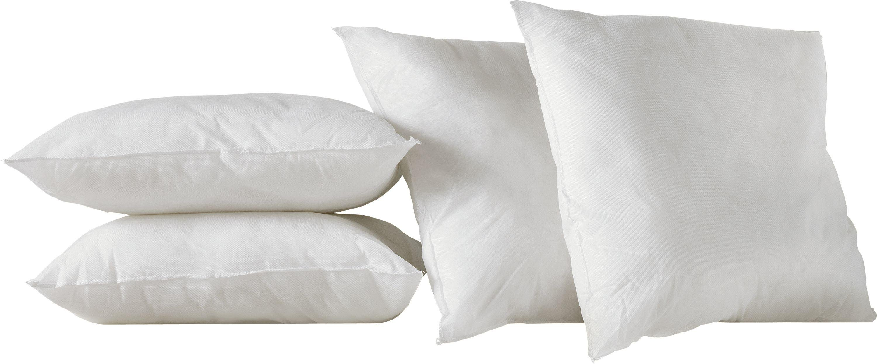 Argos Home Pack of 4 Cushion Pads - 43 x 43cm - White