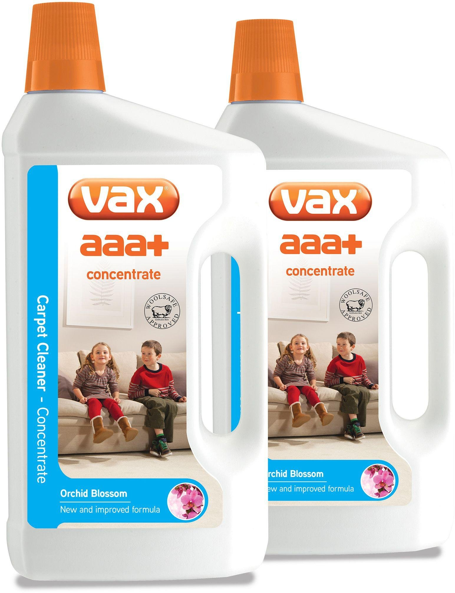 carpet cleaner solution. vax aaa+ concentrate carpet cleaning solution - pack of 2 cleaner