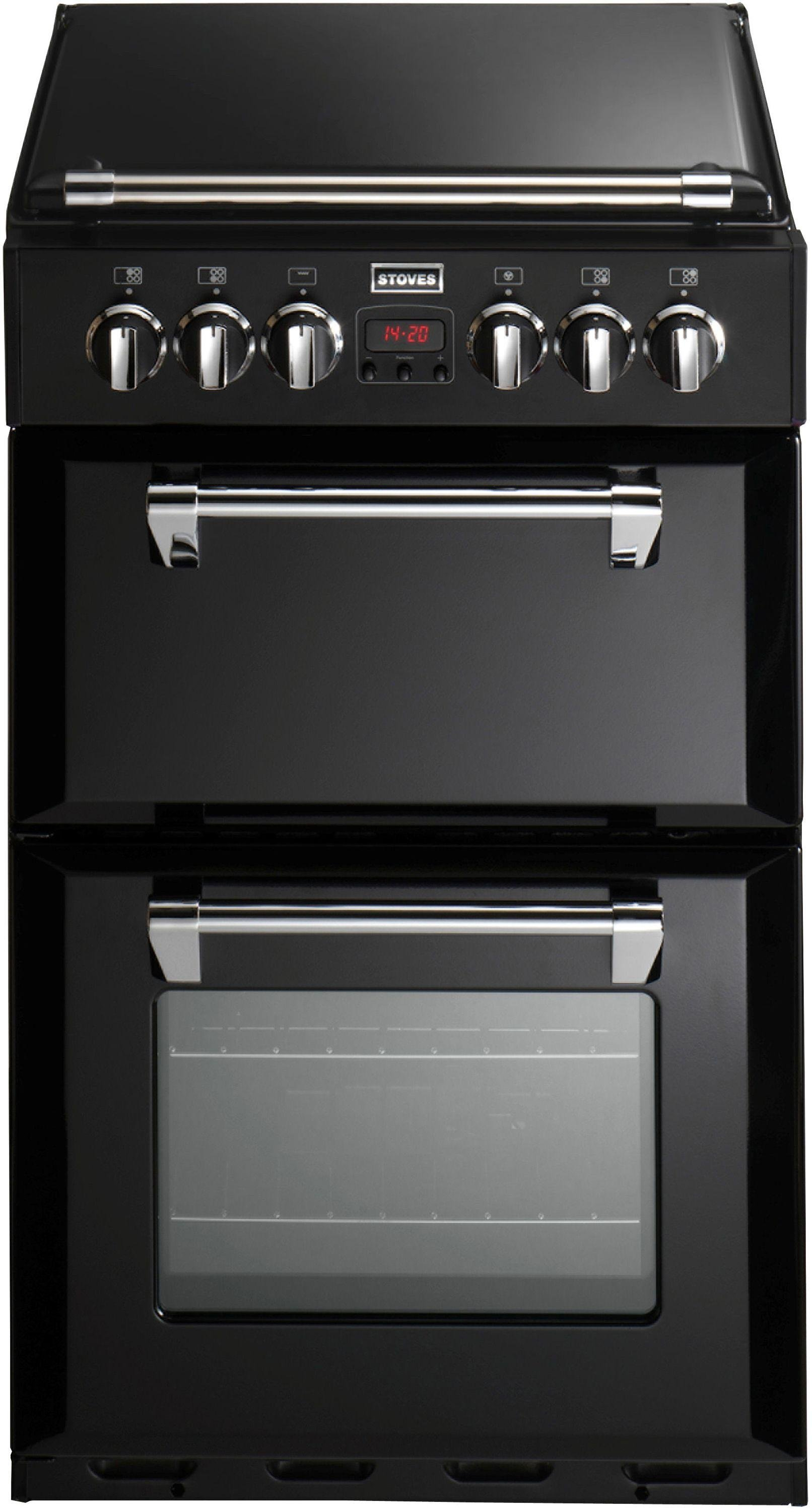 Stoves Richmond 550DFW Double Dual Fuel Cooker - Black