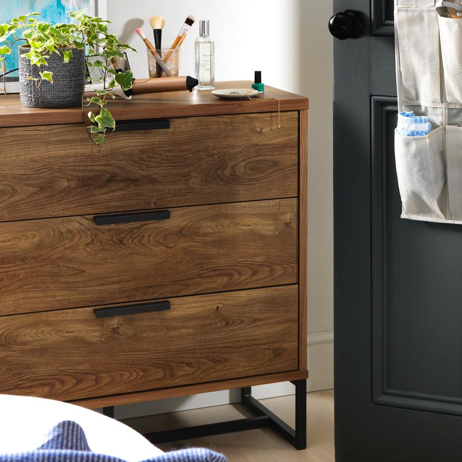 Argos Home Nomad 3 Drawer Chest.