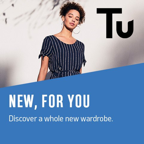 New, for you. Discover a whole new wardrobe.