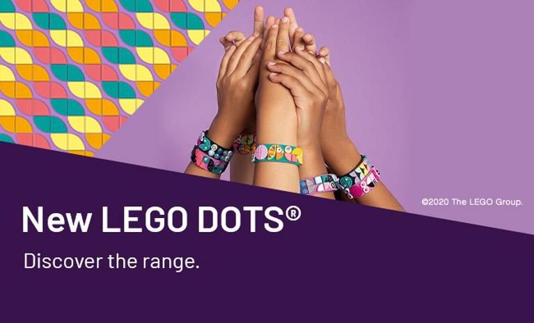 New LEGO DOTS®. Discover the range.