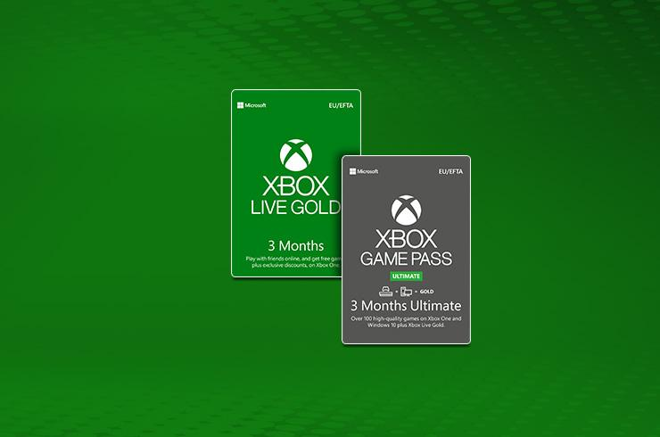 Xbox Live Gold digital