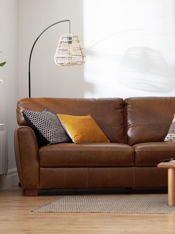 Sofa measuring guide.