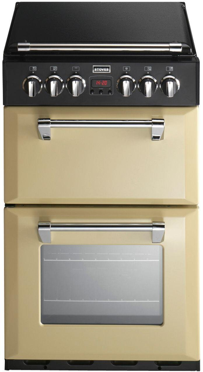 Stoves Richmond 550DFW Double Dual Fuel Cooker - Champagne