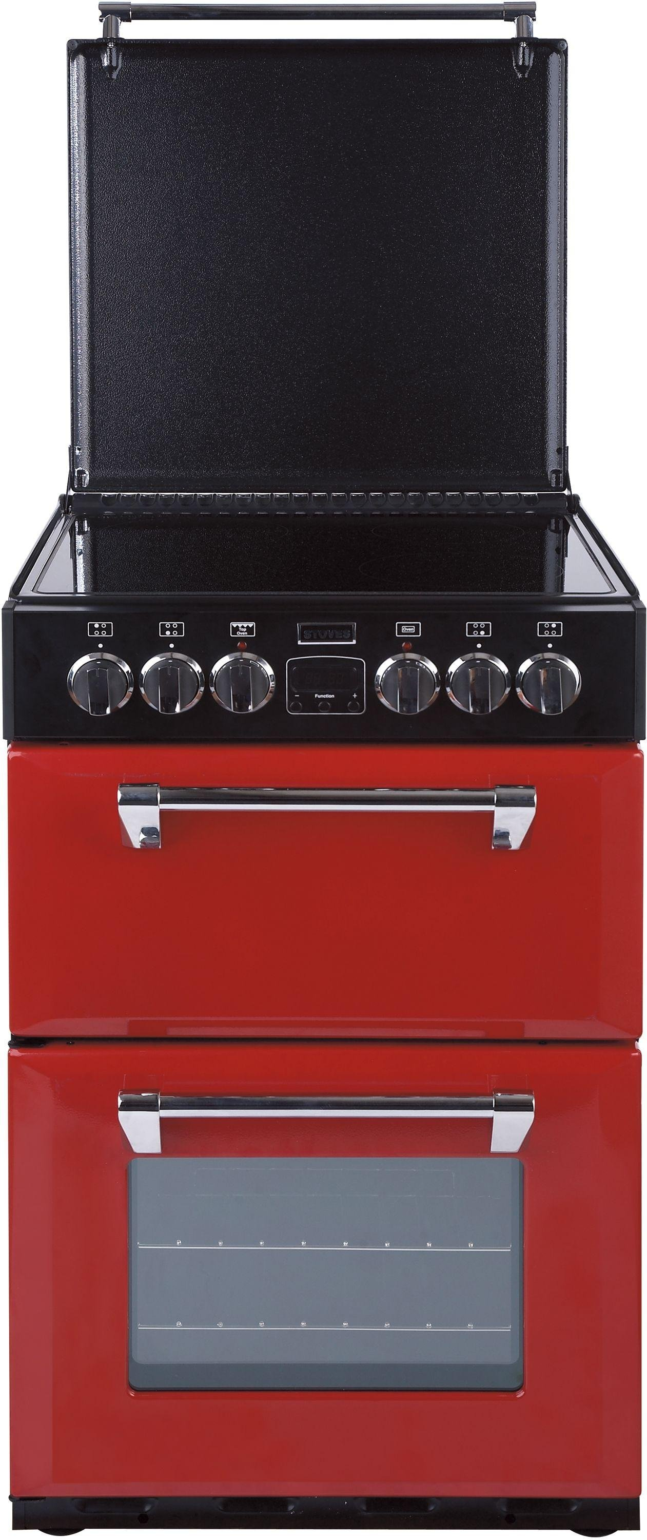 Stoves Richmond 550E MiniRange Double Cooker - Jalapeno