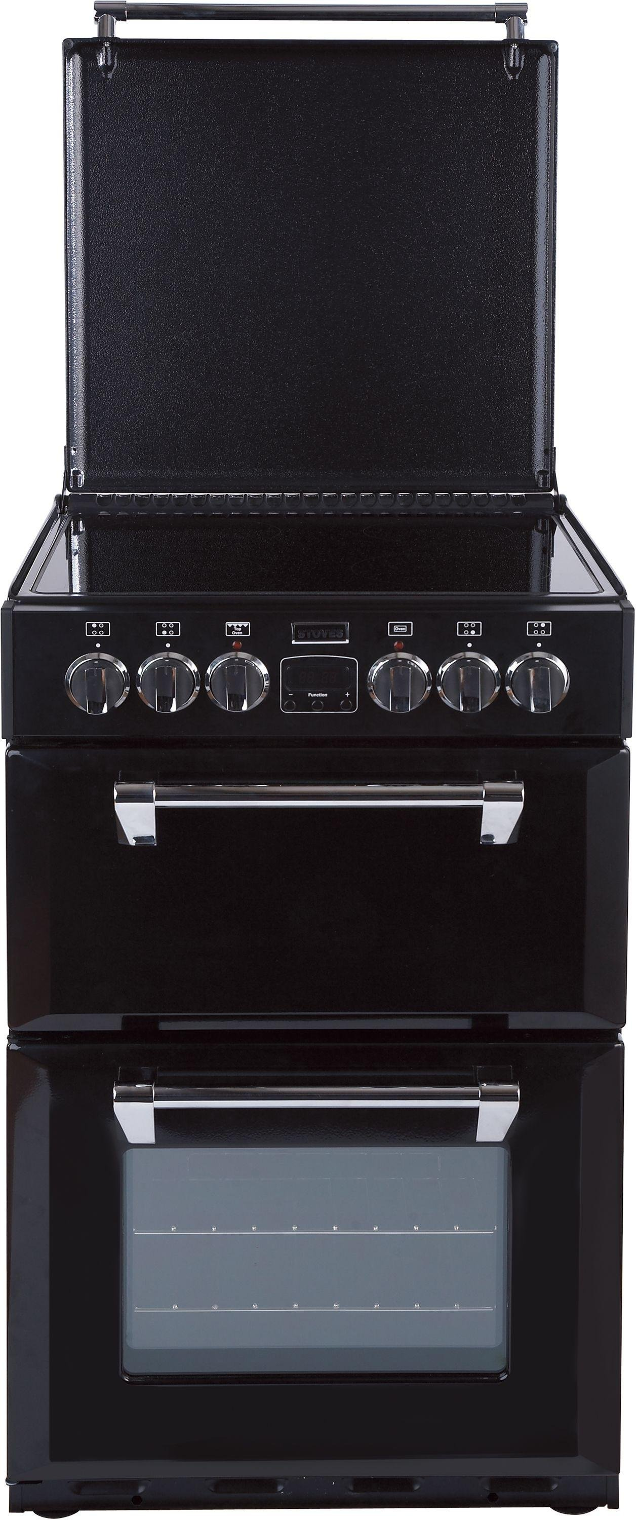 Stoves Richmond 550E MiniRange Double Cooker - Black