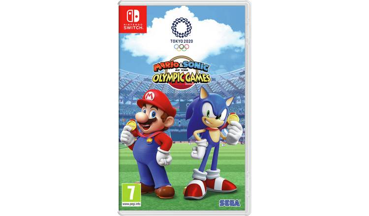 Mario & Sonic at the 2020 Olympics Nintendo Switch Game