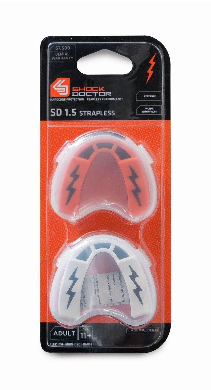 Shock Doctor V1.5 Adult Mouthguard - Set of 2