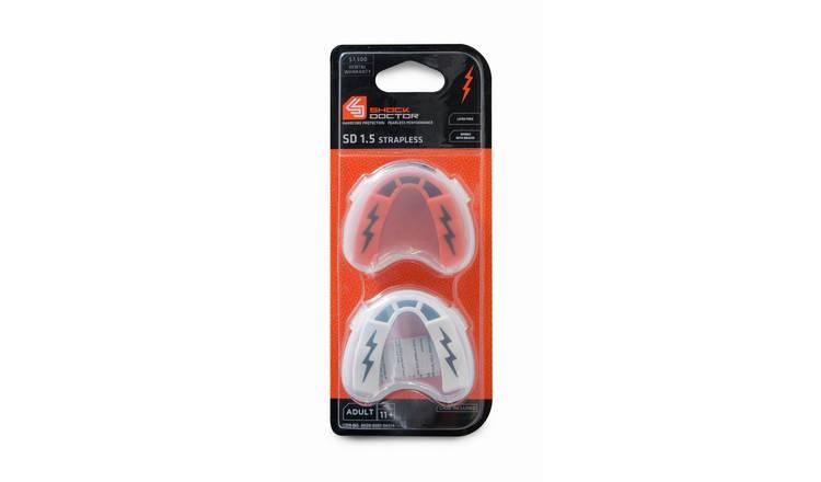 Shock Doctor v1.5 Mouth Guard Mouthguard Gum Shield Orange Black