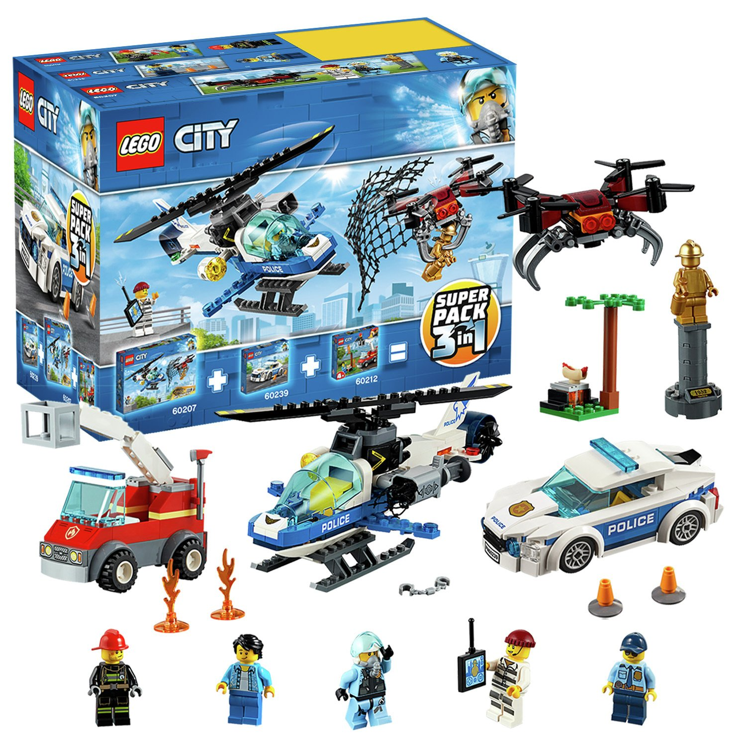 LEGO City Police 3 in 1 Super Pack - 66619