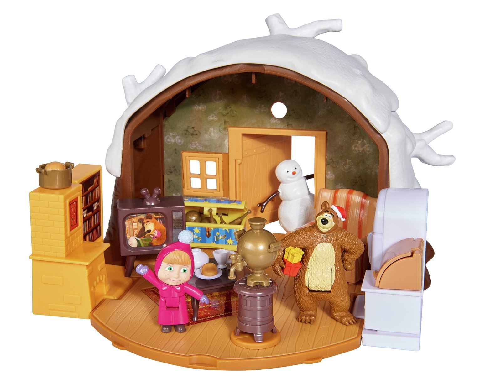 Masha and the Bear Winter Bears House Playset