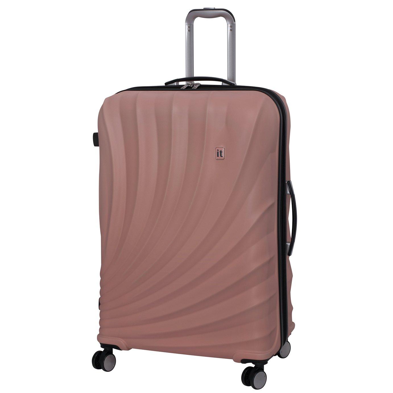 it Luggage Pagoda Large Expandable 8 Wheel Suitcase - Pink