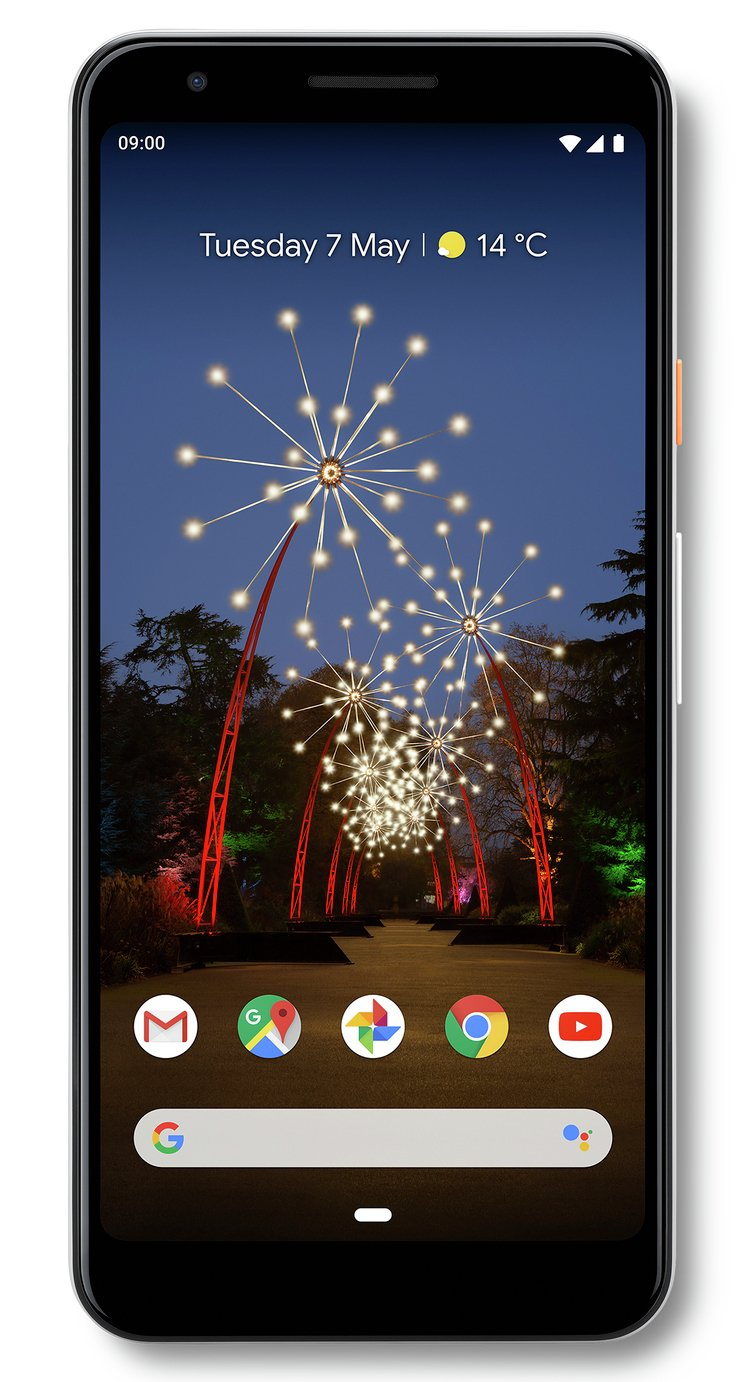 SIM Free Google Pixel 3a 64GB Mobile Phone - White