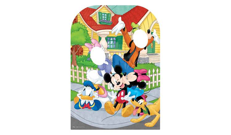 Star Cutouts Official Disney Mickey Mouse Cardboard Cutout