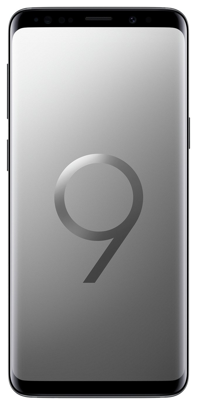 SIM Free Samsung Galaxy S9 64GB Mobile Phone - Titanium