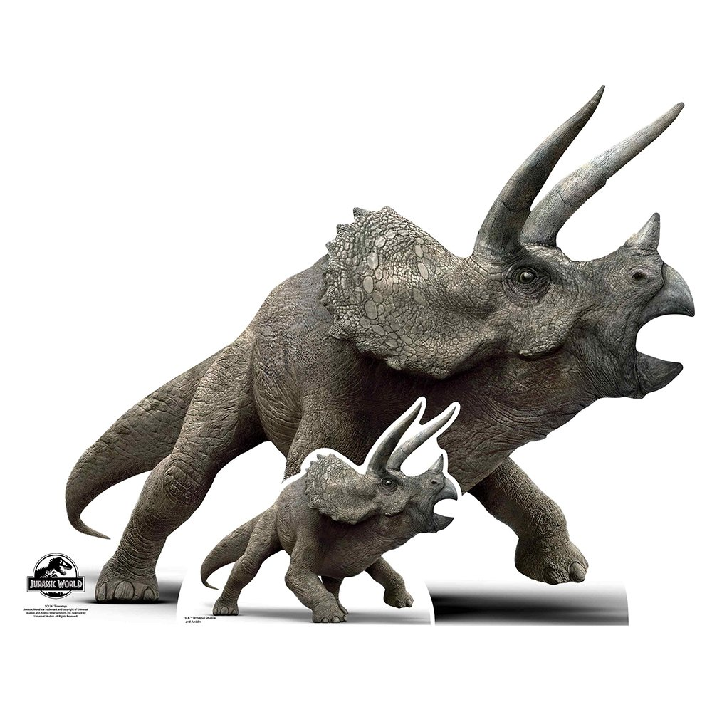 Jurassic World Triceratops Cardboard Cut-Out