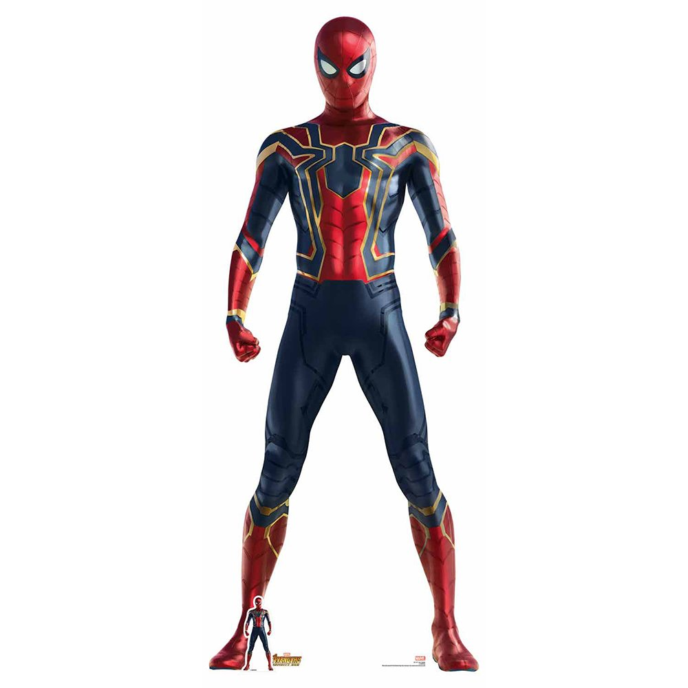 Star Cutouts Marvel Avengers Iron Spider Cardboard Cutout