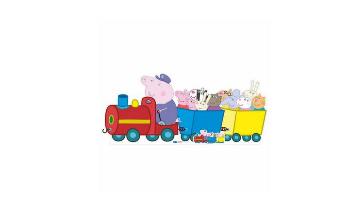 Star Cutouts Peppa Pig Grandpa Pig Train Cardboard Cutout
