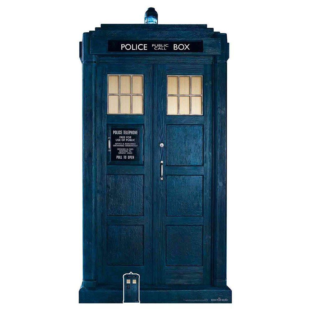 Star Cutouts Doctor Who 13th Tardis Cardboard Cutout