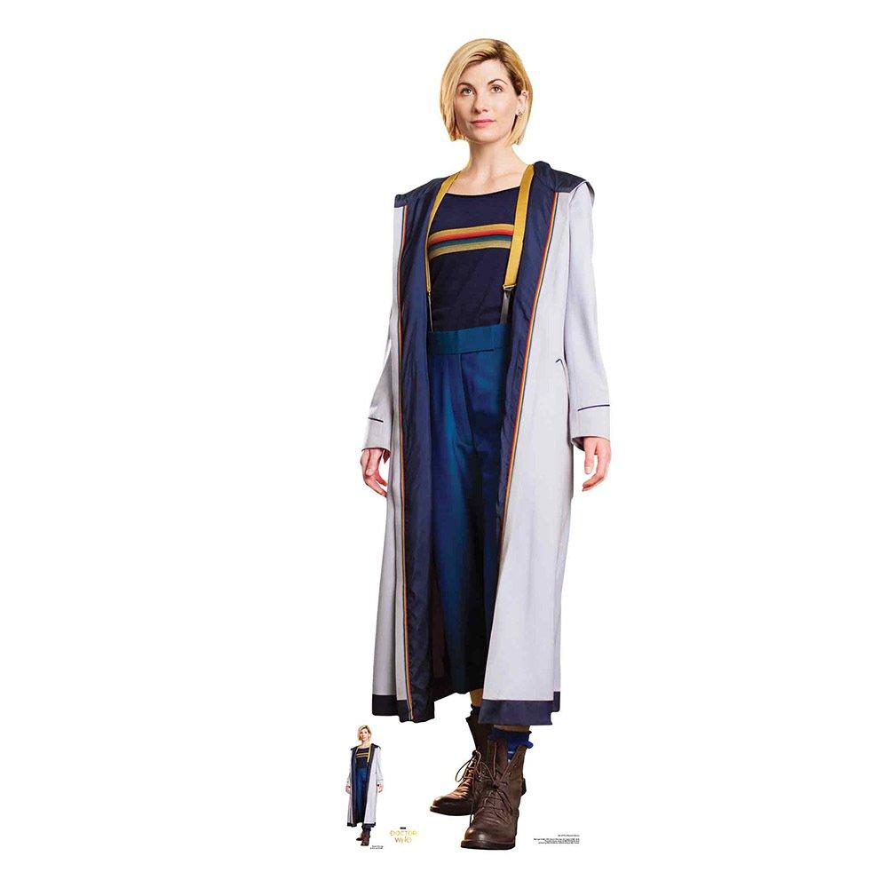 Star Cutouts Doctor Who Jodie Whittaker Cardboard Cutout