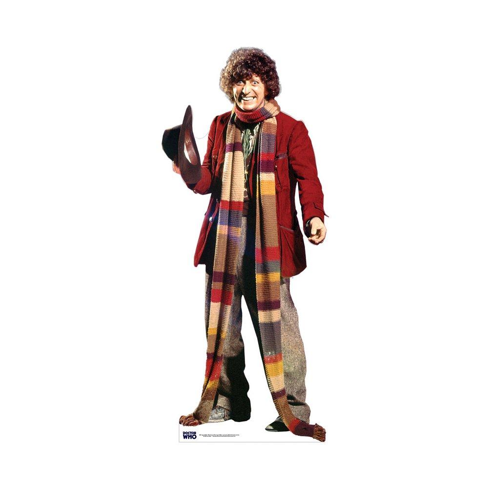 Star Cutouts Doctor Who Tom Baker Cardboard Cutout