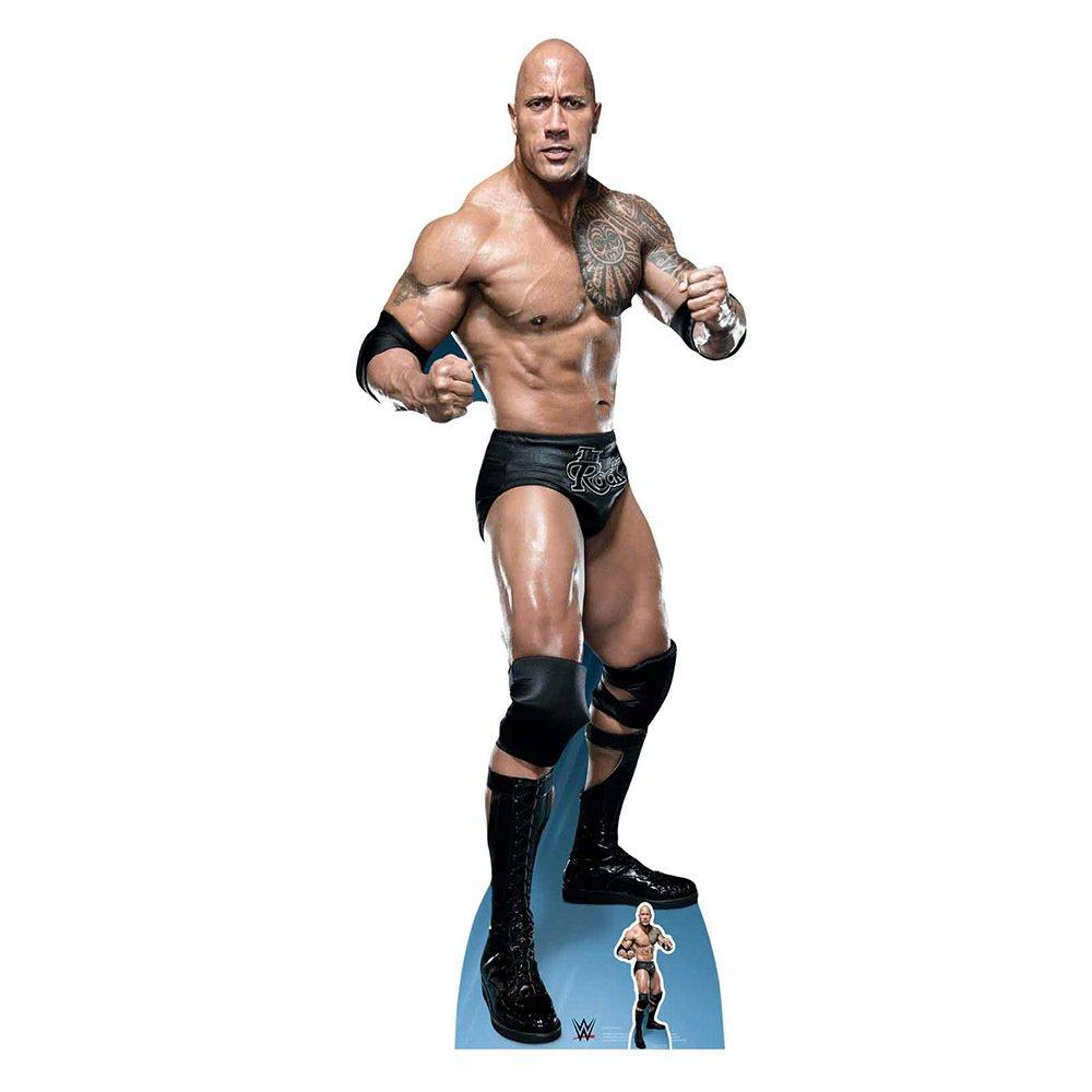 Star Cutouts WWE The Rock Cardboard Cutout