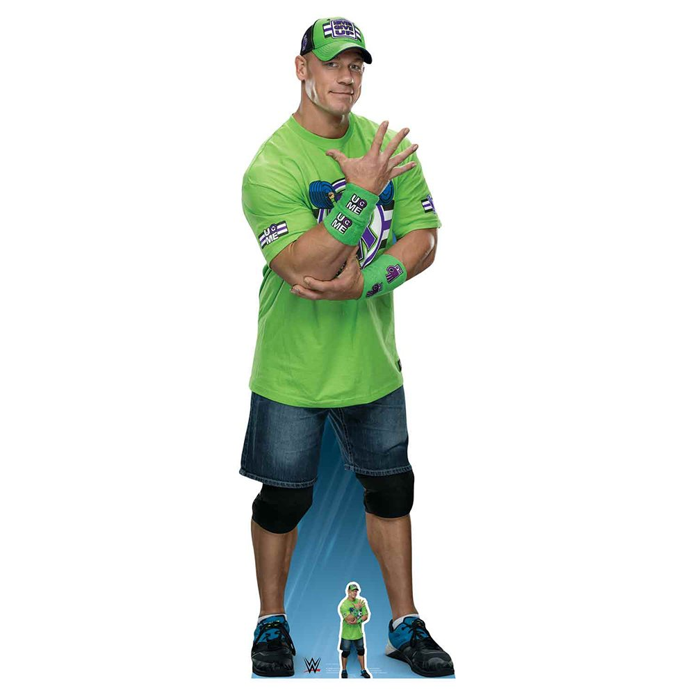 Star Cutouts WWE John Cena Cardboard Cutout