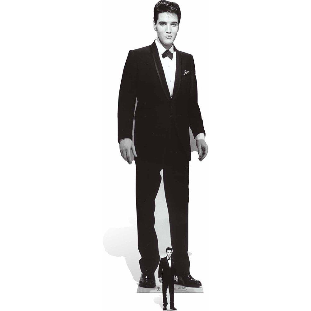 Star Cutouts Elvis Presley Tuxedo Cardboard Cutout